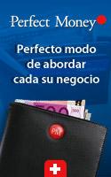 recibir pagos con Perfect Money procesador de pago. Recomendado por Blog SEO Web.